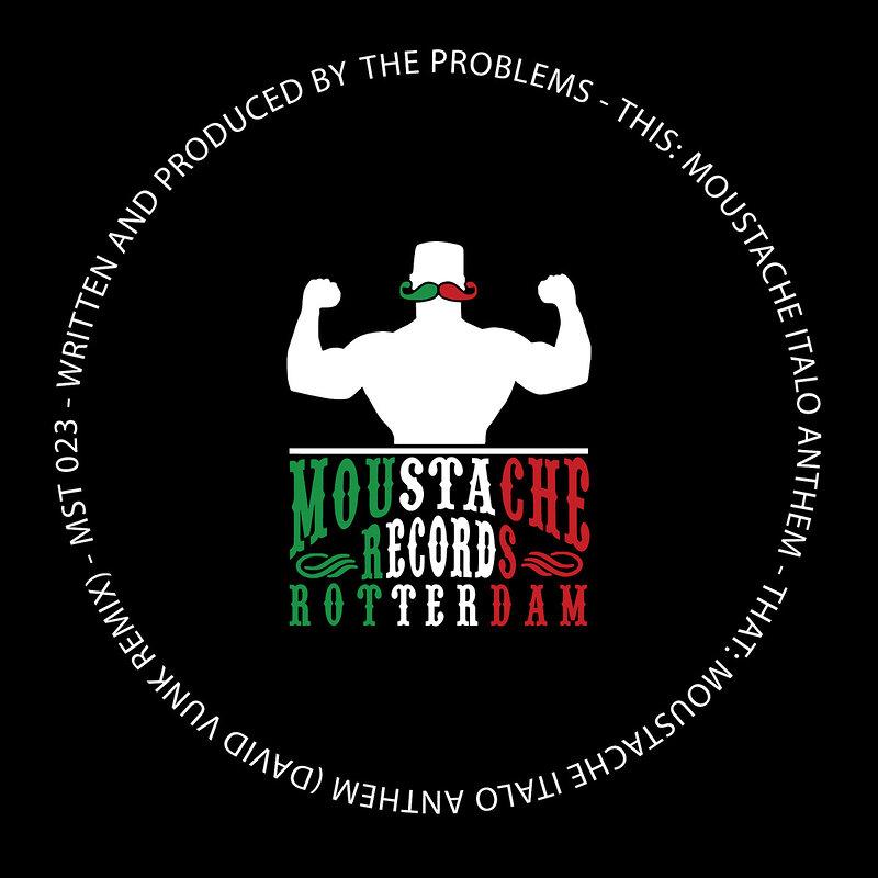 Cover art - The Problems: Moustache Italo Anthem