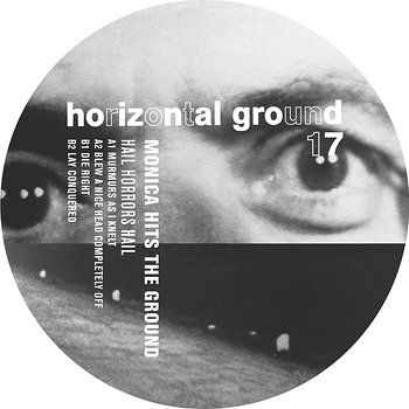 Cover art - Monica Hits The Ground: Hail Horrors Hail