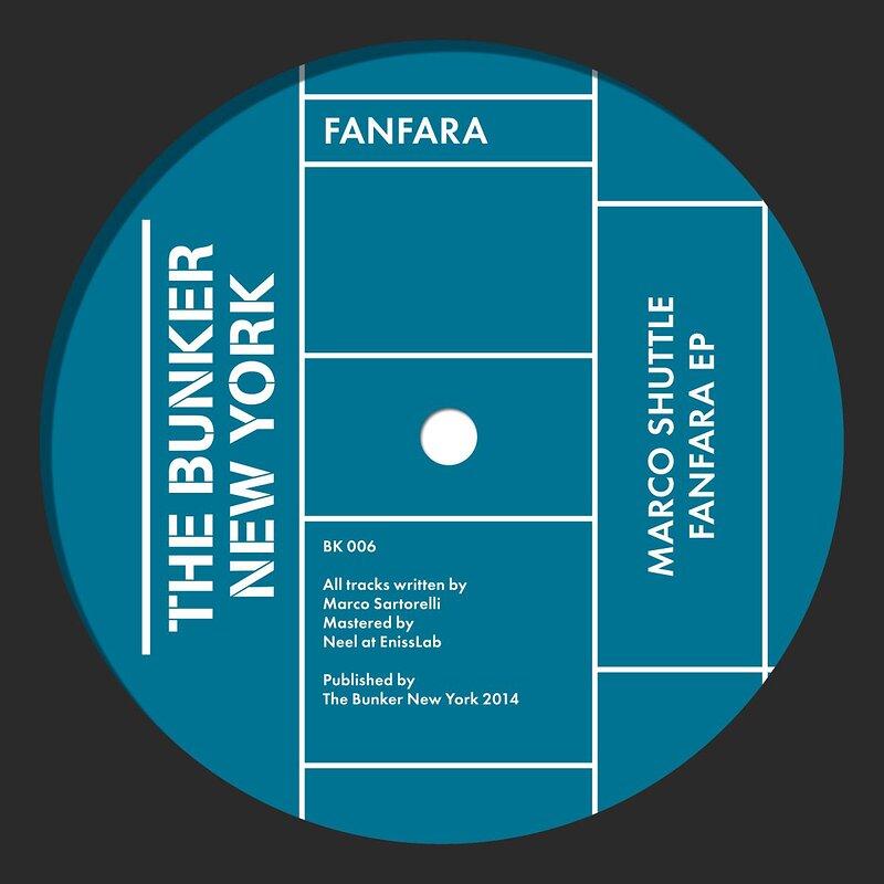 Cover art - Marco Shuttle: Fanfara