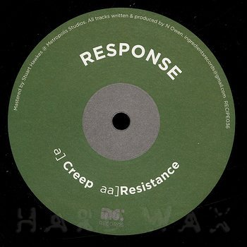 Cover art - Response: Creep