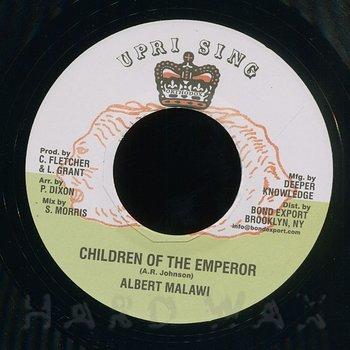 Cover art - Albert Malawi: Children Of the Emperor