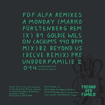 Cover art - Freund der Familie: Alfa Remixes #2