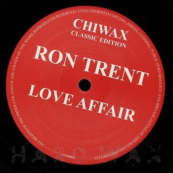 Cover art - Ron Trent: Love Affair