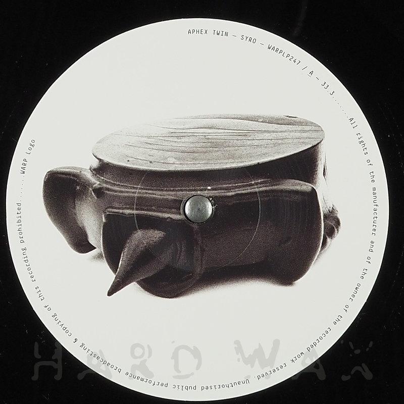 Cover art - Aphex Twin: Syro