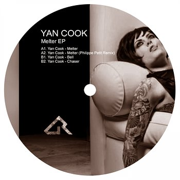 Cover art - Yan Cook: Melter EP