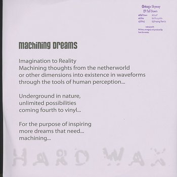 Chicago Skyway: EP Fall Down - Hard Wax