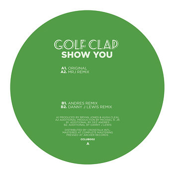 Cover art - Golf Clap: Show You
