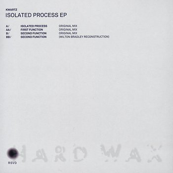 Cover art - Kwartz: Isolated Process