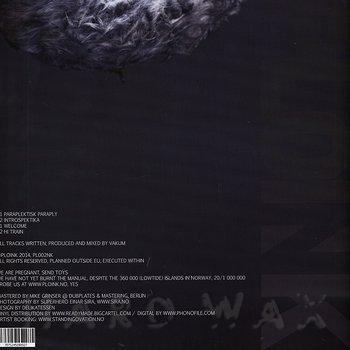 Cover art - Vakum: Paraplektisk Paraply
