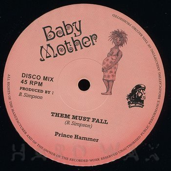Cover art - Prince Hammer: Them Must Fall