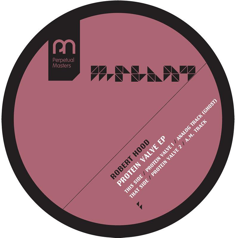 Cover art - Robert Hood: Protein Valve EP
