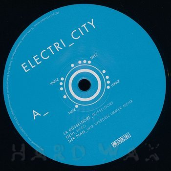 Cover art - Various Artists: Electri_city - Elektronische Musik aus Düsseldorf