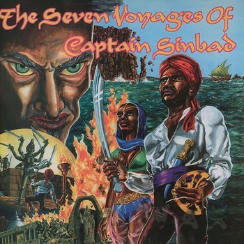 Cover art - Captain Sinbad: The Seven Voyages Of Captain Sinbad