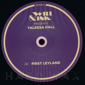 Cover art - Yaleesa Hall: Leyland