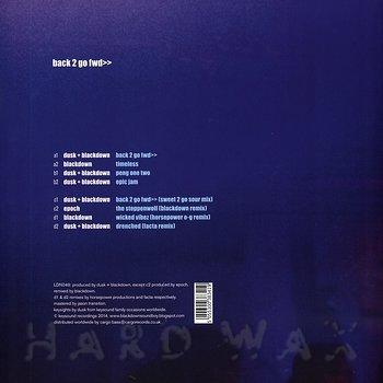 Cover art - Dusk + Blackdown: Back 2 Go Fwd>>