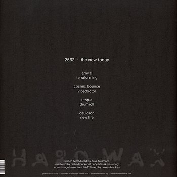 Cover art - 2562: The New Today