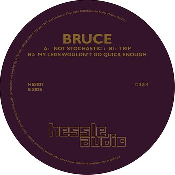 Cover art - Bruce: Not Stochastic