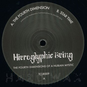 Cover art - Hieroglyphic Being: The Fourth Dimensions Of A Nubian Mystic