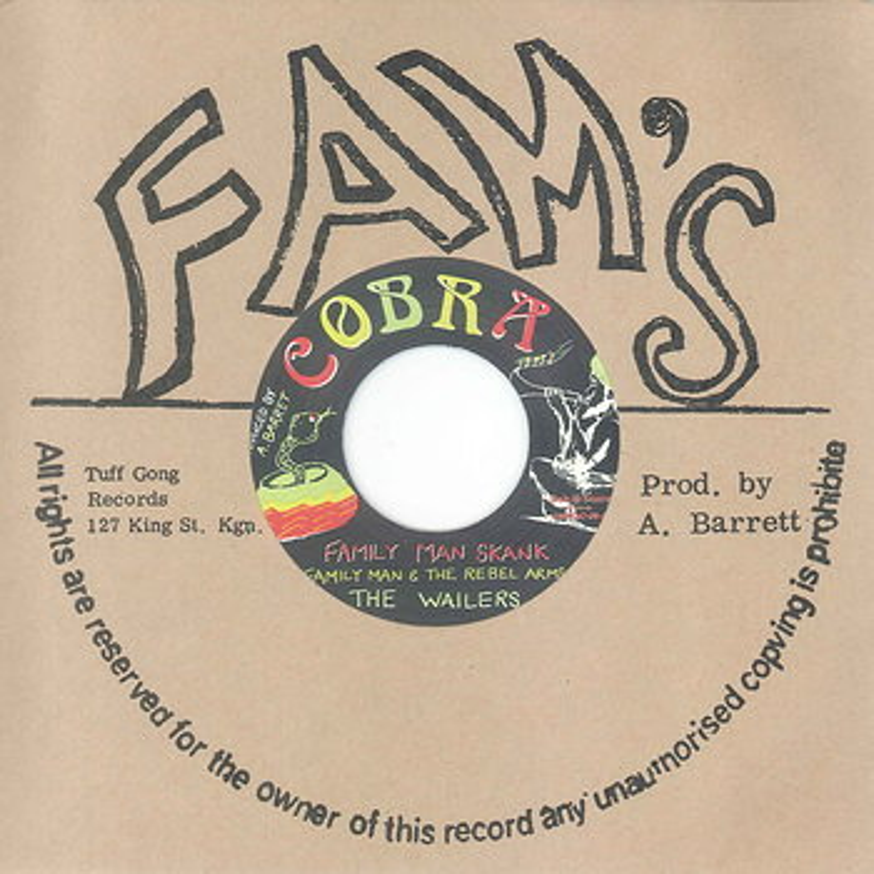 Cover art - The Wailers: Familyman Skank