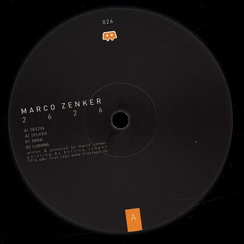 Cover art - Marco Zenker: 2626