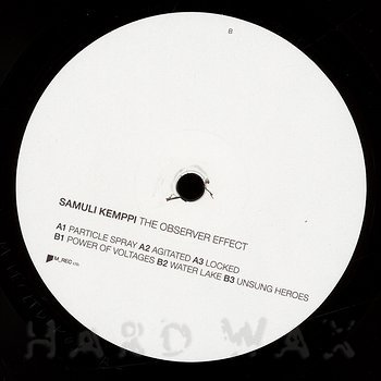 Cover art - Samuli Kemppi: The Observer Effect