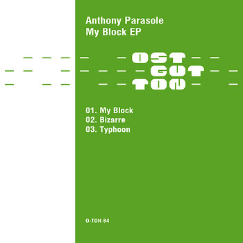 Cover art - Anthony Parasole: My Block EP