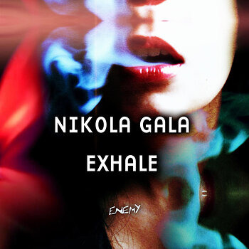 Cover art - Nikola Gala: Exhale
