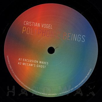 Cover art - Cristian Vogel: Polyphonic Beings