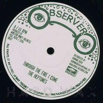 Cover art - The Heptones: Through The Fire I Come