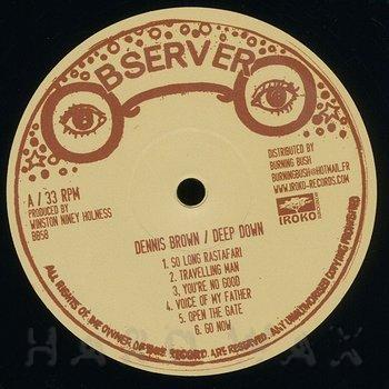 Cover art - Dennis Brown: Deep Down
