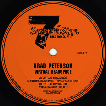 Cover art - Brad Peterson: Virtual Headspace