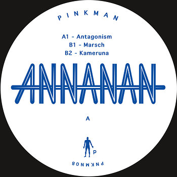 Cover art - Annanan: Antagonism EP