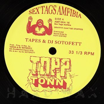 Cover art - Tapes & DJ Sotofett: Topp Tonn