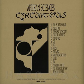 Cover art - Afrikan Sciences: Circuitous