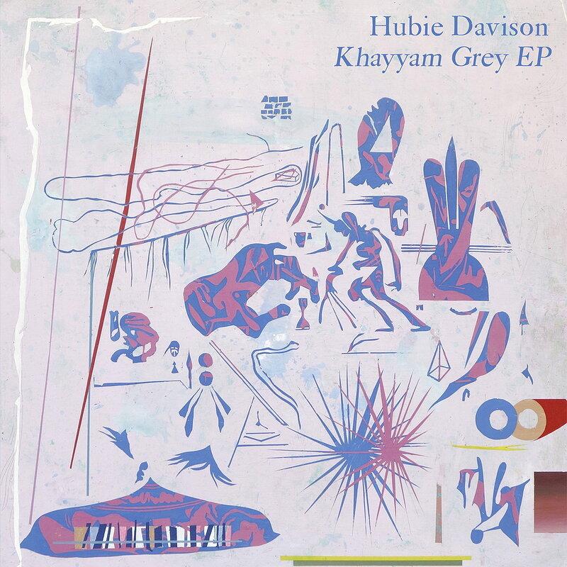 Cover art - Hubie Davison: Khayyam Grey EP