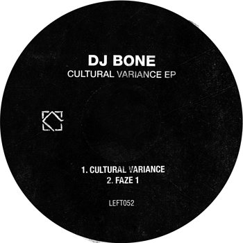 Cover art - DJ Bone: Cultural Variance
