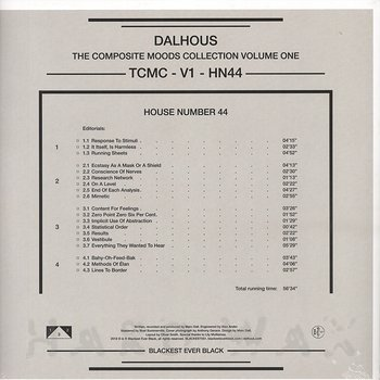 Cover art - Dalhous: The Composite Moods Collection Vol.1: House Number 44