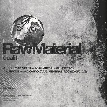 Cover art - Dualit: Raw Materialnew