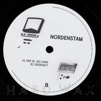 Cover art - Andreas Nordenstam: Her Vil Jeg Være