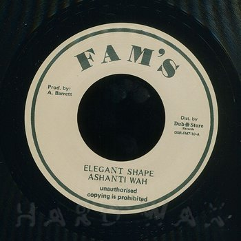 Cover art - Ashanti Wah: Elegant Shape