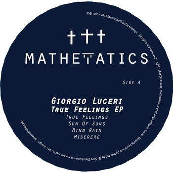 Cover art - Giorgio Luceri: True Feelings EP