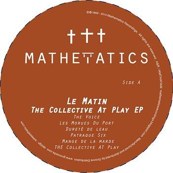 Cover art - Le Matin: The Collective At Play EP