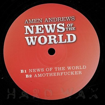 Cover art - Amen Andrews: News Of The World EP