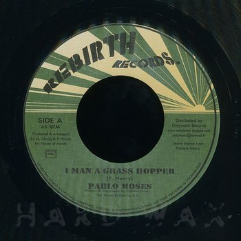 Cover art - Pablo Moses: I Man A Grasshopper