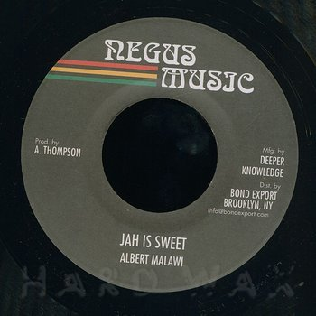 Cover art - Albert Malawi: Jah Is Sweet