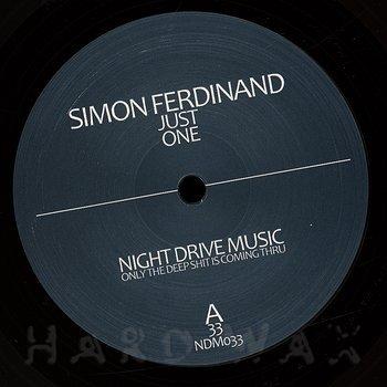 Cover art - Simon Ferdinand: Just One EP