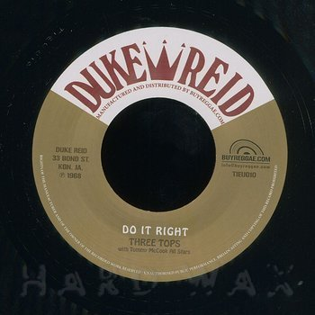Cover art - The Three Tops: Do It Right