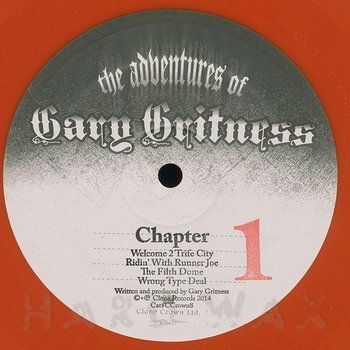 Cover art - Gary Gritness: The Adventures Of Gary Gritness 1