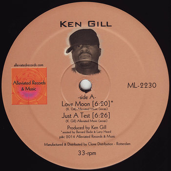 Cover art - Ken Gill: Love Moon