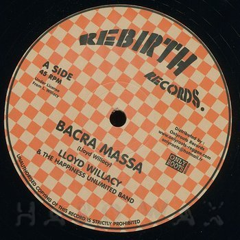 Cover art - Lloyd Willacy & The Happiness Unlimited Band: Bacra Massa